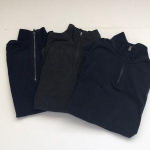 Gap sweater half zip bundle